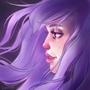 Purple Hair by SLKuhnsArt