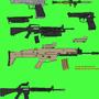Handguns & Rifles by Phantox