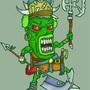 Gurkin - Battle Junky by Vadent