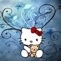 Artistic Kitty Wallpaper by PlatformSource
