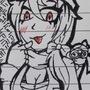 Doodle paper art heather
