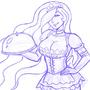 French Maid Celestia (Original)