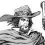 Ref Sheet - McCree - Overwatch fan comics