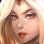 Solar Eclipse Leona portrait