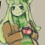 Matcha Cheesecake Cat