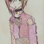 Ashi Himamura (coloured) by sasori-kun
