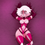 Pink Diamond in Bed
