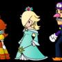 PM_Paper Daisy, Rosalina and Waluigi by Chivi-chivik