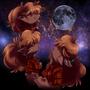 Three Winnie Moon Oct 5