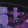 Space Ship Background 01