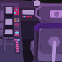 Space Ship Background 02