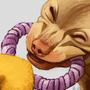 easter theme dog