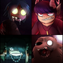 Monster Gorillaz by PrioritizeSleep