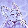 Comfy Fox by foxefuel
