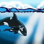 Open ocean whales by DmattGibson