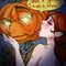 Girls just love Halloween ;)