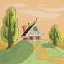 Farmhouse by Lotusfishicoot