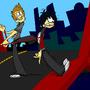 GD Toon - Bridge by cartoonjunkie