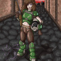 Stomping Through Hell by Armaina