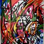 Paint Battle by Stoned-Gorilla