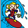 sam the surfing simian