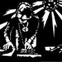 DJ stencil by BojangIes