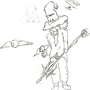 wierd wizard by XdarkshadowsX