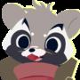 [CM #08] Happy Raccoon
