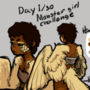 monster girl challenge day 1/30 by Kocklock