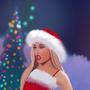 Ariana Grande thank you next Santa costume