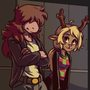 Susie and Noelle, Deltarune
