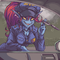 Undyne the Police Woman