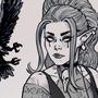 Goth Druid.