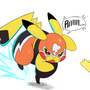 Pikachu Libre Doodles
