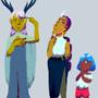 Grandma Naitaim and Her Apprentices by Mewgatori