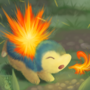 Non-Dom Hand: Cyndaquil by Uluri