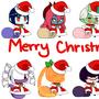 Merry (Padoru) Christmas! by thatgirlwhodraws