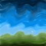 mixed skies