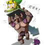 Eek! by Comic-Ray