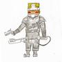 Pyro Knight WIP by Tyndras