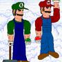 Real Mario and Luigi by Makaga