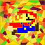 Stained Glass Mario by Sh0T-D0wN