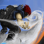 Cloud surfing by Rhunyc
