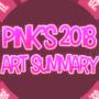 Art Summary (2018) by LilPinkGhost