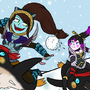 Dota 2 - Happy Frostivus! by ankaa-avarshina