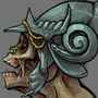 Helmeted Undead by diceyjune