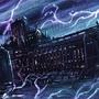 Imperial Battlebarge Warp