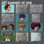 Art Summary of 2018