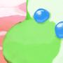 yoshi ice cream pop
