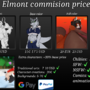 commission price sheet by elmont
